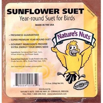 Chuckanut Products 00165 11.5 Oz Sunflower Suet Dough - Case of 12