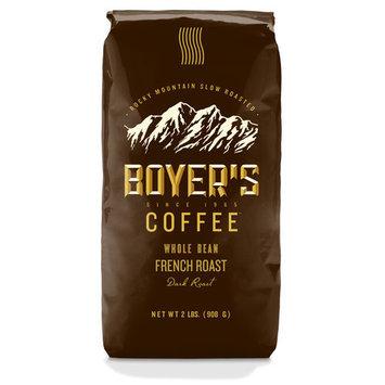 Boyer's Coffee Supreme Blend French Roast Dark Whole Bean Coffee, 2 lbs