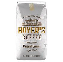 Boyer's Coffee Caramel Creme - Whole Bean