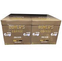 Boyer's Coffee Kona Medium Roast Single Serve Cups (72 ct.)