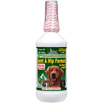 Pet Authority Joint & Hip Formula For Dogs & Puppies Daily Food Supplement, 8 oz