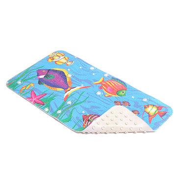 Con-Tact Brand Rubber Bath Mat, Sea Fishes