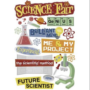 Karen Foster 340989 School Days Cardstock Stickers 5.5 in. x 9 in. -Science