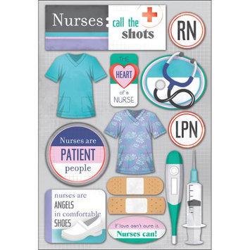 Karen Foster Medical Cardstock Stickers 5.5