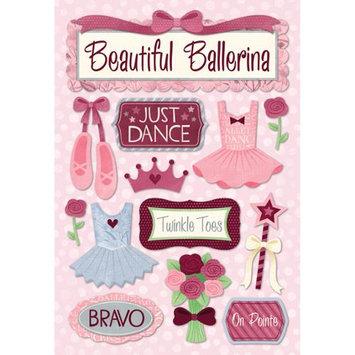 Karen Foster Ballet Cardstock Stickers 5.5X9-Just Dance
