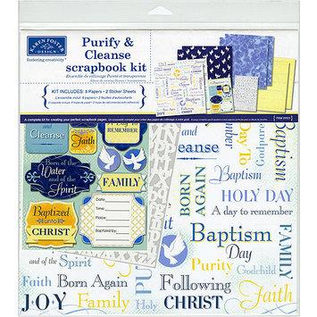 Karen Foster Purify And Cleanse Baptism Scrapbook Kit