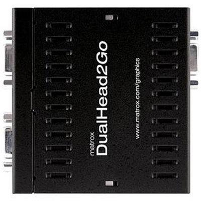 Matrox Graphics eXpansion Module DualHead2Go - Analog Edition - video converter