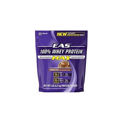 EAS 100% Whey Max Protein Powder, Chocolate (5 lbs.)