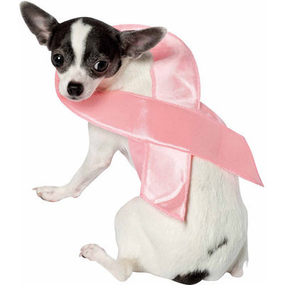 Rasta 5213-XS Pink Ribbon Dog Costume - X-Small