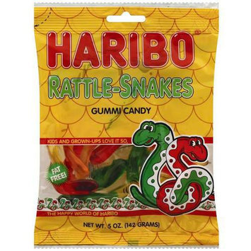 Haribo Rattle-Snakes Gummi Candy, 5 oz, 6 count, (Pack of 6)