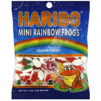 Haribo Mini Rainbow Frogs Gummi Candy, 5 oz, (Pack of 6)