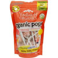 YumEarth Organics Organic Pops Candy, 3.3 oz, (Pack of 3)