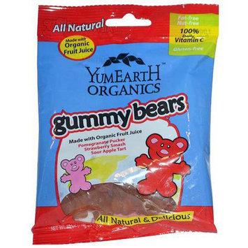 YumEarth Organics Gummy Bears, .7 oz, (Pack of 6)