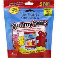 YummyEarth Gummy Bears, 3.5 oz, (Pack of 6)