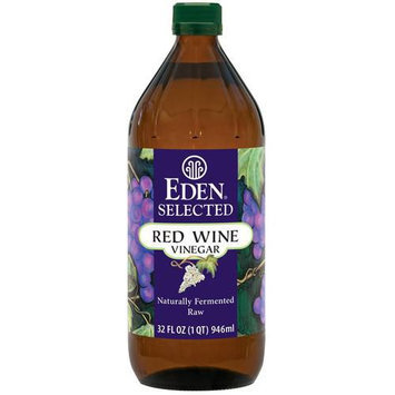 Eden Selected Red Wine Vinegar, 32 fl oz, (Pack of 4)