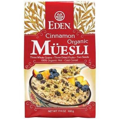 Eden Cinnamon Organic Muesli Cereal, 17.6 oz, (Pack of 3)