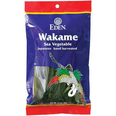 Eden Wakame, 2.1 oz, (Pack of 3)
