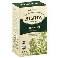 Alvita Organic Horsetail Herbal Supplement Tea, 24 count, 1.69 oz, (Pack of 3)
