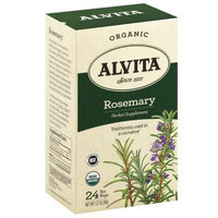 Alvita Organic Rosemary Herbal Supplement Tea, 24 count, 1.27 oz, (Pack of 3)