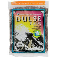 Maine Coast Dulse Flakes Ready to Use Sea Vegetables, 4 oz, (Pack of 2)