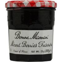 Bonne Maman Mixed Berry Fruit Preserves, 13 oz, (Pack of 4)