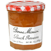 Bonne Maman Peach Preserves, 13 oz, (Pack of 4)