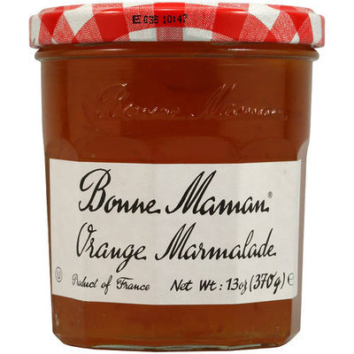 Bonne Maman Orange Marmalade Preserves, 13 oz, (Pack of 4)