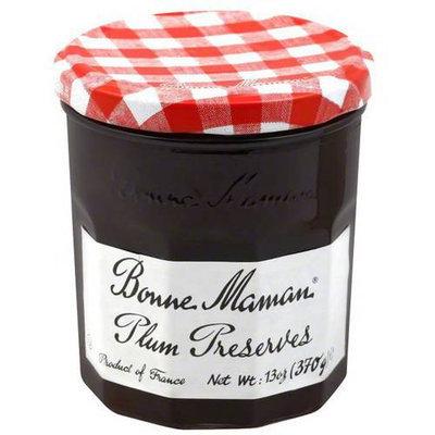 Bonne Maman Plum Preserves, 13 oz, (Pack of 4)