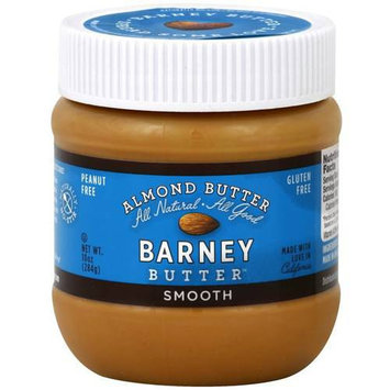 Barney Butter Smooth Almond Butter, 10 oz, (Pack of 3)