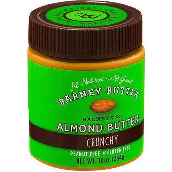 Barney Butter Crunchy Almond Butter, 10 oz, (Pack of 3)