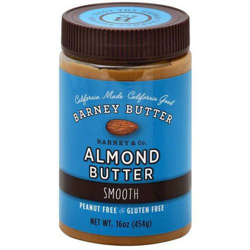 Barney Butter Smooth Almond Butter, 16 oz, (Pack of 3)