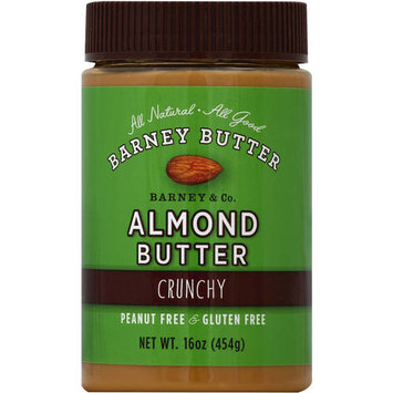 Barney Butter Crunchy Almond Butter, 16 oz, (Pack of 3)