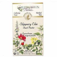 Celebration Herbals Slippery Elm Bark Powder Bulk Herbal Tea, 1.44 oz, (Pack of 3)