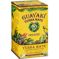 Guayaki Yerba Mate Traditional Yerba Mate Tea Dietary Supplement, 25 count, 2.6 oz, (Pack of 3)