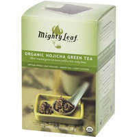 Mighty Leaf Tea Organic Hojicha Green Tea Artisan Whole Leaf Pouches, 15 count, 1.34 oz, (Pack of 3)