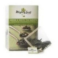 Mighty Leaf Tea Green & White Tea Variety Artisan Whole Leaf Pouches, 15 count, 1.32 oz, (Pack of 3)
