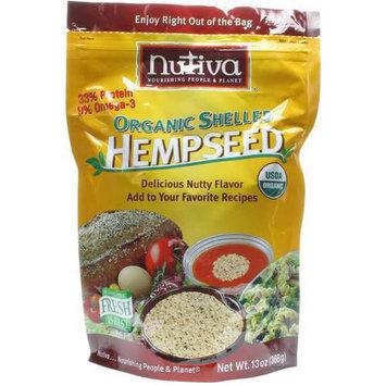 Nutiva Organic Shelled Hempseed, 13 oz