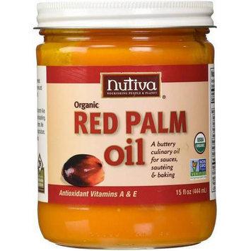 Nutiva Organic Red Palm Oil, 15 fl oz, (Pack of 3)