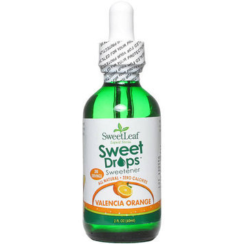 Sweetleaf Orange Clear Liquid Stevia, 2 oz