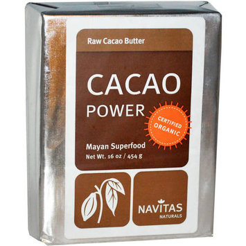 Navitas Organic Raw Cacao Butter, 16 oz