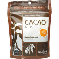 Navitas Organic Raw Cacao Nibs, 4 oz