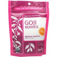 Navitas Organic Sun-Dried Goji Berries, 4 oz, (Pack of 2)