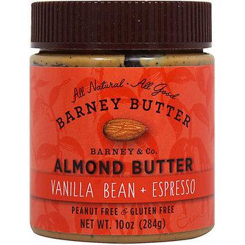 Barney Butter Vanilla Bean & Espresso Almond Butter, 10 oz, (Pack of 3)