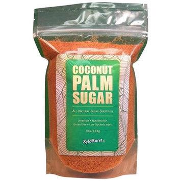 XyloBurst Coconut Palm Sugar, 1 lb, (Pack of 3)