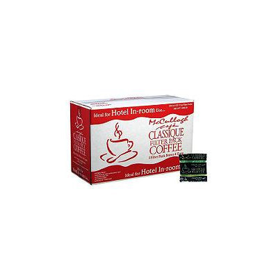 Mccullagh In-Room Preportioned Filter Coffee - Reg-200 pk.