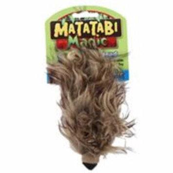 Ware Mfg. Inc. Dog/cat Ware Mfg. Inc. Dog-cat-Matatabi Crazy Critter Head- Brown