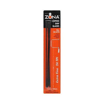 Coping Saw Blade, 24TP I - Zona Tool Company - 36-676