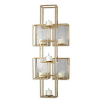 Uttermost 07693 Ronana Wall Mounted Candle Holder