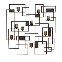 Uttermost 20850 Siam- Candle Light Wall Sculpture - Metal