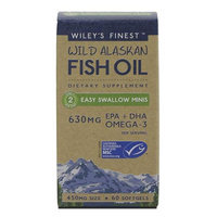 Wileys Finest Wiley's Finest Wild Alaskan Fish Oil Easy Swallow Minis